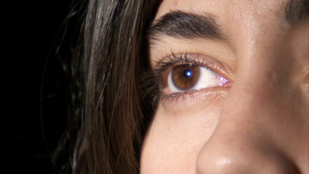 Hispanic Face Closeup